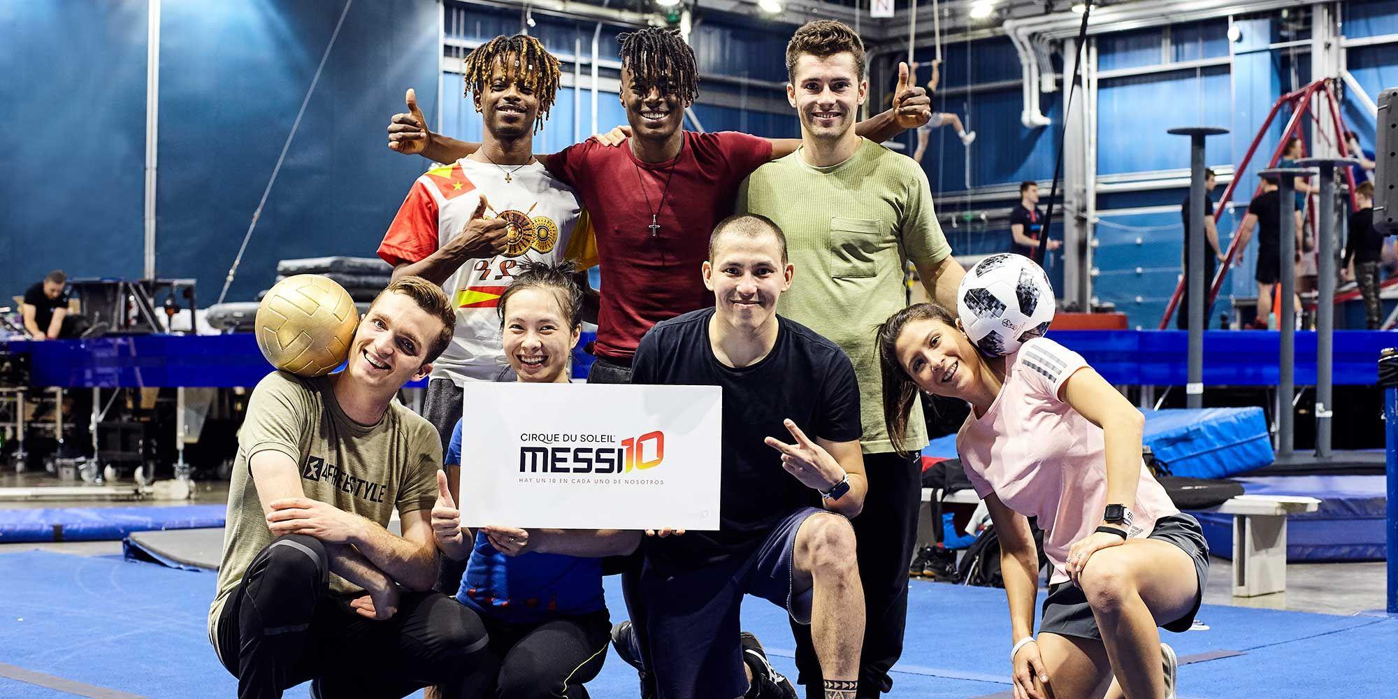 'Messi10 by Cirque du Soleil' se estrenará en Rakuten TV