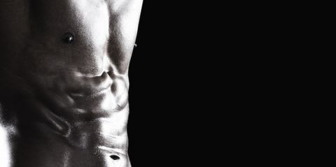Photograph, Face, Black, Chest, Head, Arm, Black-and-white, Muscle, Monochrome photography, Abdomen,