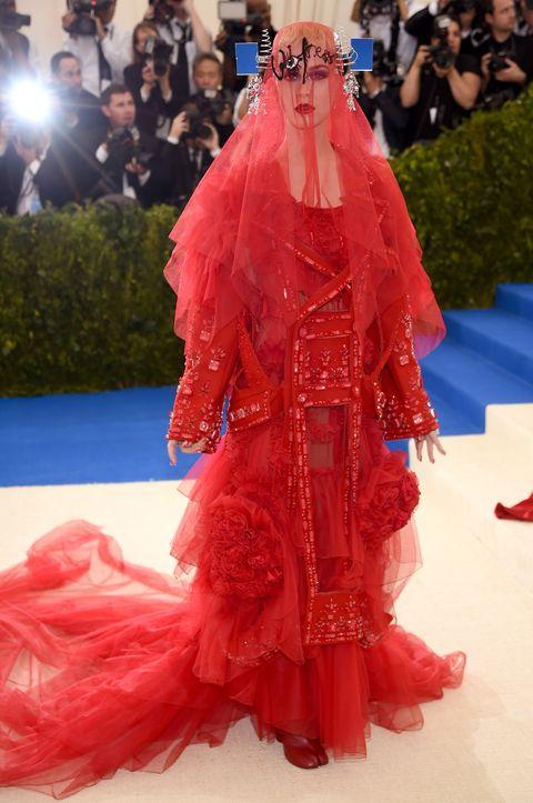 2017 Met Gala red carpet dresses