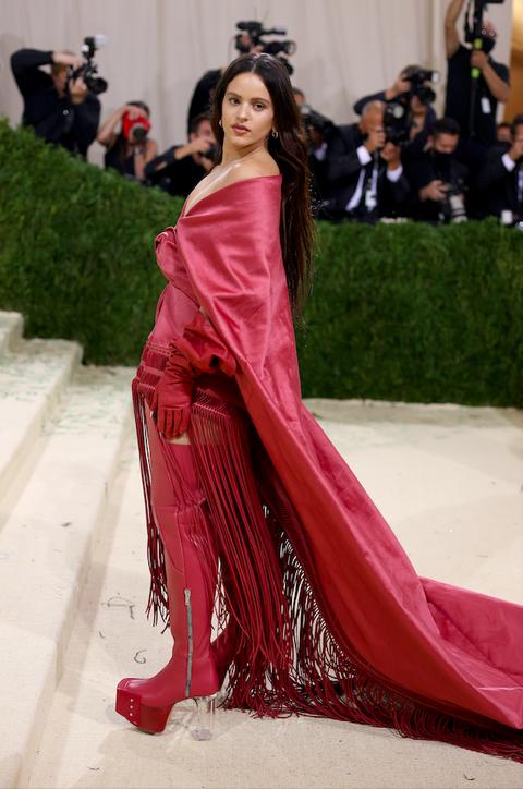 rosalía en la met gala 2021