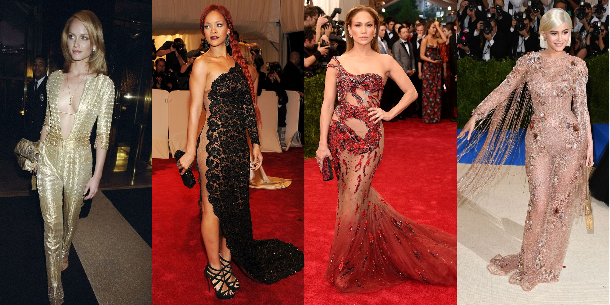 The Sexiest Met Gala Looks of All Time