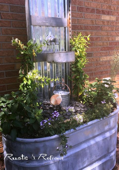 22 Outdoor Fountain Ideas How To Make A Garden Fountain