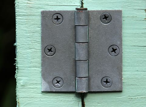 home repair metal door hinge