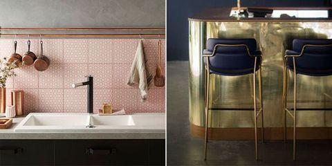 Tile, Bathroom, Room, Property, Plumbing fixture, Tap, Sink, Interior design, Floor, Furniture,
