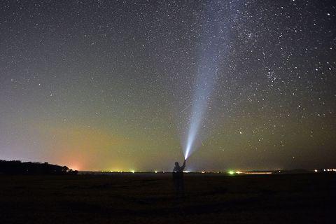 Orionid meteor shower in Russian Far East