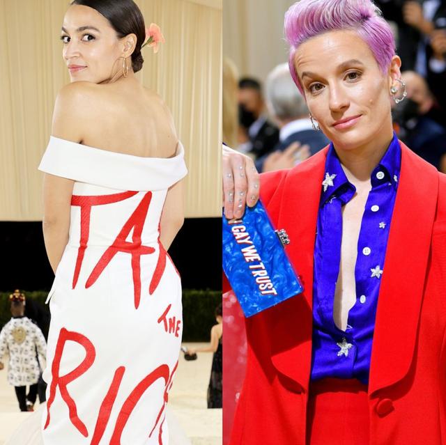 9月13日(現地時間)にニューヨークのメトロポリタン美術館で開催されたmetガラ。セレブは今年のテーマに合わせ、それぞれ思い思いのアメリカンファッションに身を包んでいたのだけれど、中には同時にメッセージを発信したセレブも。今回は男女平等や政治にまつわるメッセージなどを伝えた4人の参加者をご紹介。