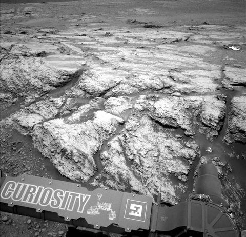 nasa curiosity rover mars methane