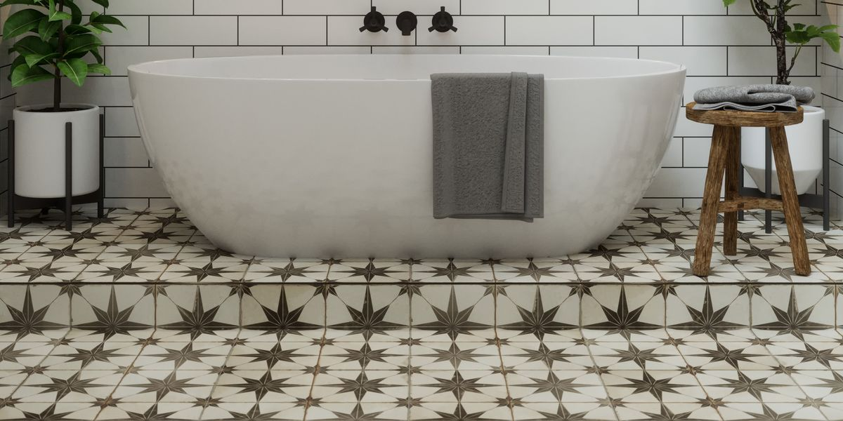 Bathroom Flooring Ideas For 2021, What Is The Best Type Of Flooring To Put In A Bathroom