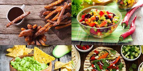 Healthy Mexican food