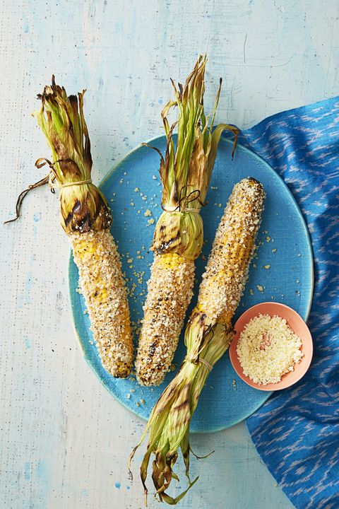 Mexican Grilled Corn - Memorial Day Side Dishes