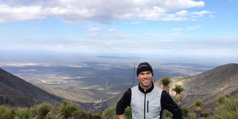 Nick Symmonds at training camp in Mexico