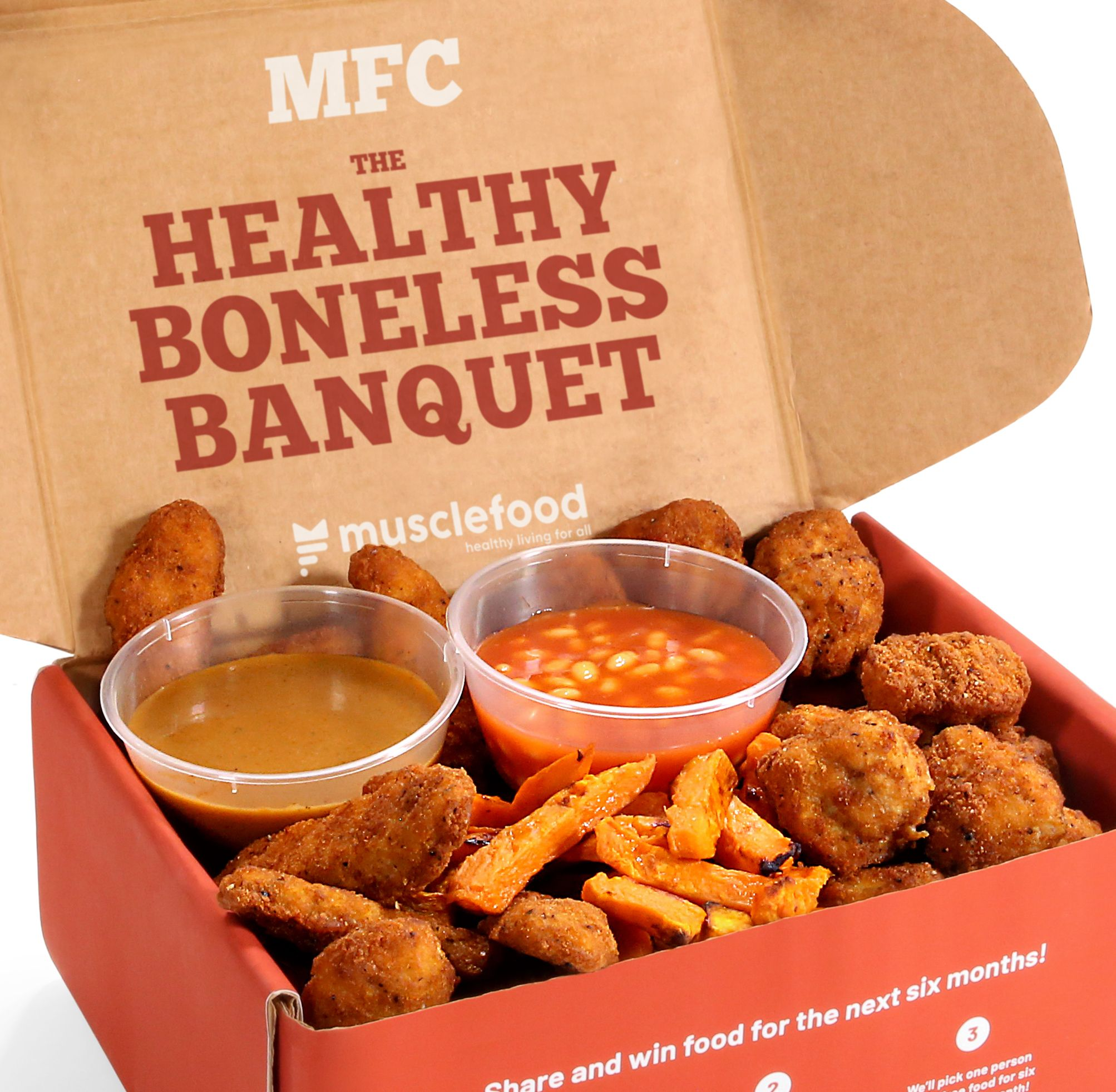 Musclefood Is Now Offering A Healthy Alternative To Kfc S Boneless Banquet