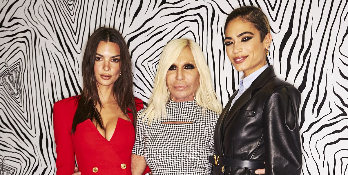 Exclusive Backstage Photos from Versace Fall/Winter 2020