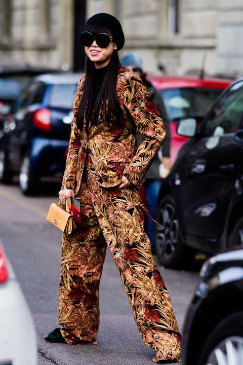 Street fashion, Clothing, Military camouflage, Fashion, Camouflage, Eyewear, Sunglasses, Design, Pattern, Uniform,