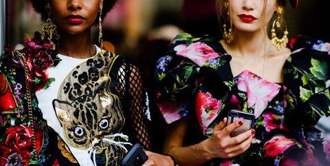 Fashion, Pink, Beauty, Lip, Spring, Street fashion, Black hair, Fashion model, Plant, Photography,