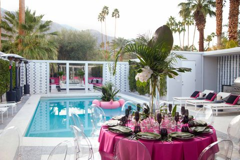 Pink, Property, Tablecloth, Table, Party, Banquet, Interior design, Real estate, Restaurant, Room,