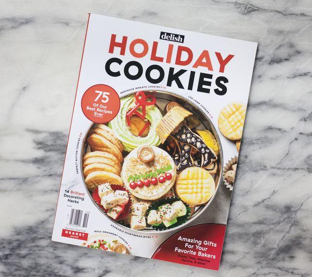 delish holiday cookies magazine
