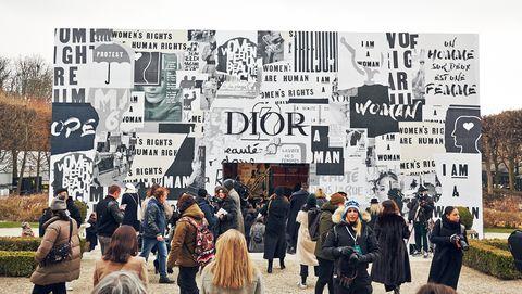 Dior, Maria Grazia Chiuri, 2018秋冬時裝週, 巴黎時裝週