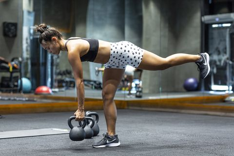 Weights, Exercise equipment, Physical fitness, Sports equipment, Kettlebell, Individual sports, Arm, Sports, Muscle, Exercise,