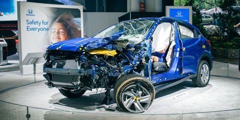IIHS Crash Tested this 2019 Honda HR-V