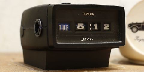 Toyota Accessory Clock by Jeco