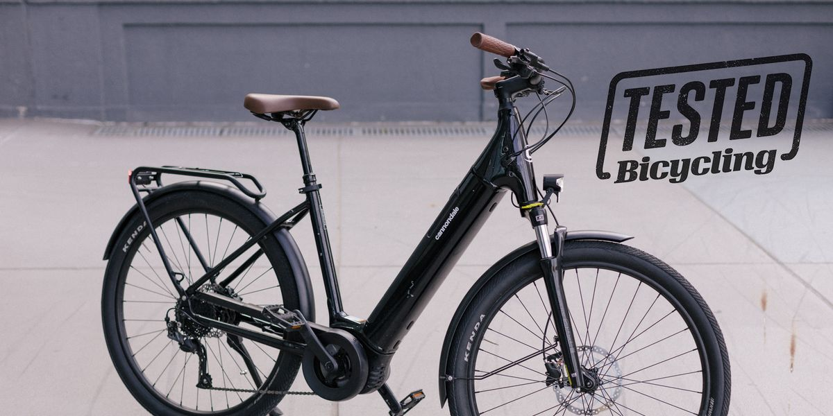 The Cannondale Adventure Neo 3 Is a Comfy, Easy-to-Live-With City E-Bike