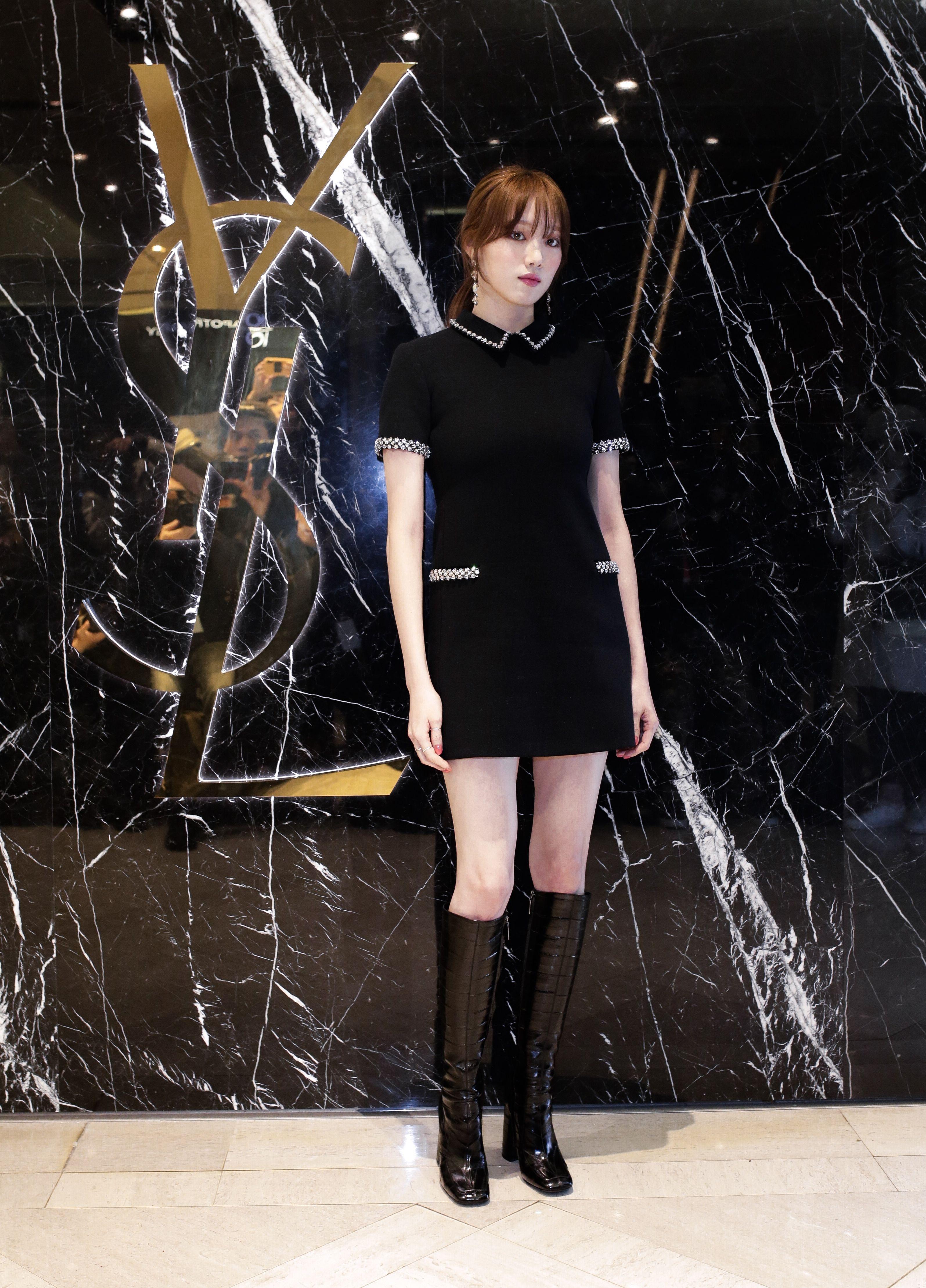 ootd, 女星穿搭, 穿搭筆記 李聖經, 穿搭, 韓星穿搭, 顯瘦穿搭, 時尚穿搭,Saint Laurent ,台灣,台北