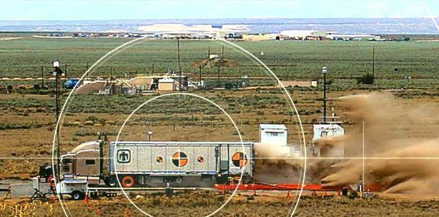 nuclear truck crash test