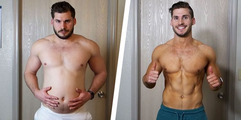 How This Guy Lost His Gut and Got Absolutely Shredded in 3 Months