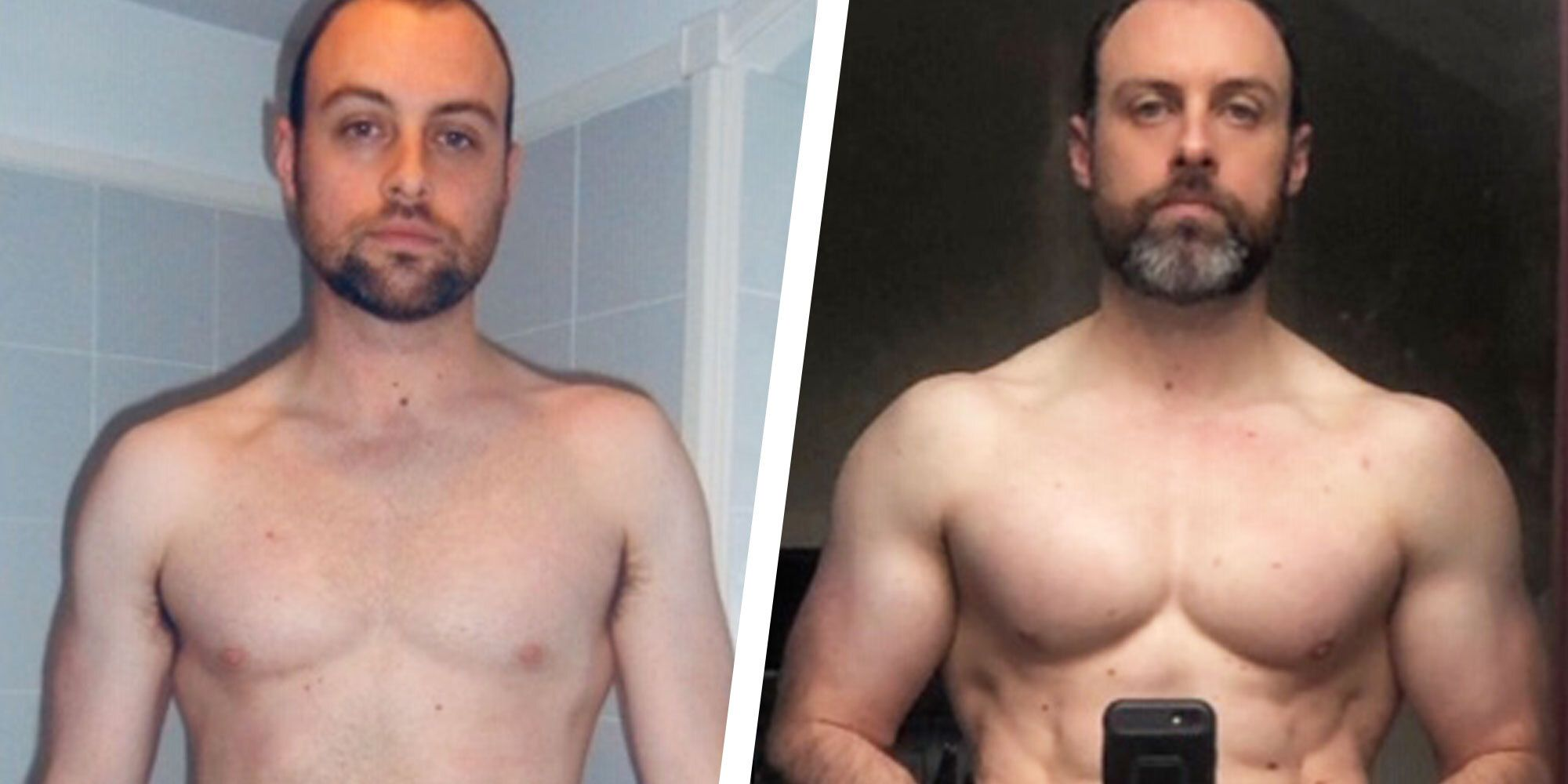 A Balanced Diet and Simple Workout Plan Helped Me Build Muscle and Get Ripped