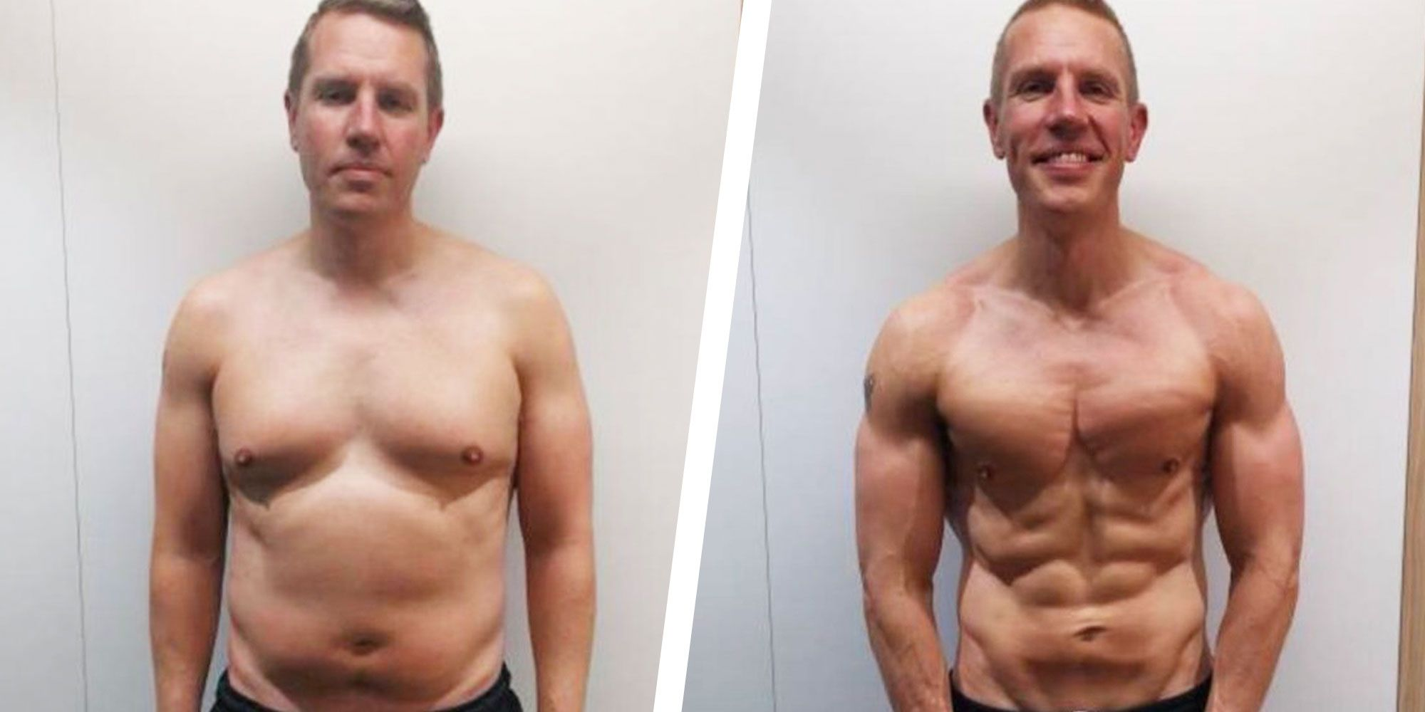 This Guy Got Ripped in 3 Months With a Simple Diet and Training Program