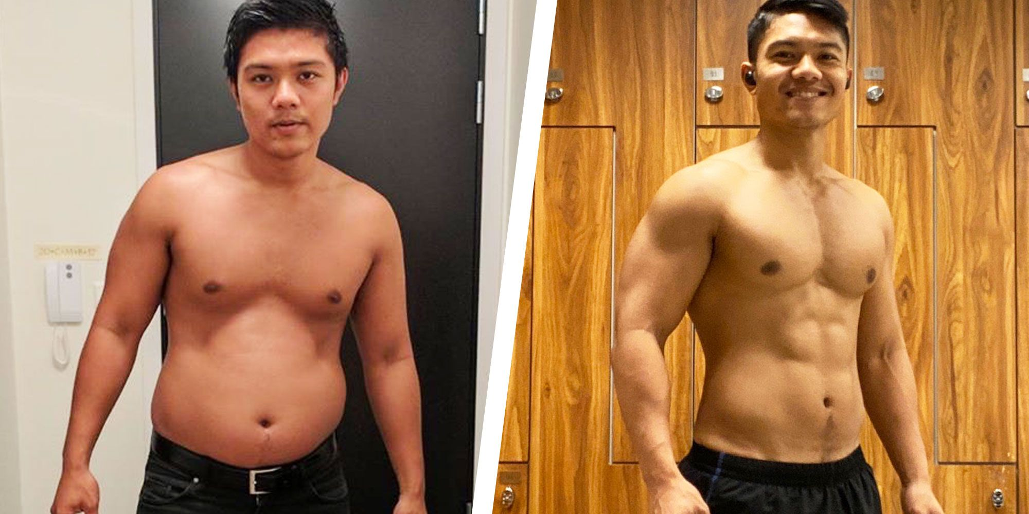 Simple Diet Changes Helped This Guy Lose Weight and Rediscover His Six-Pack