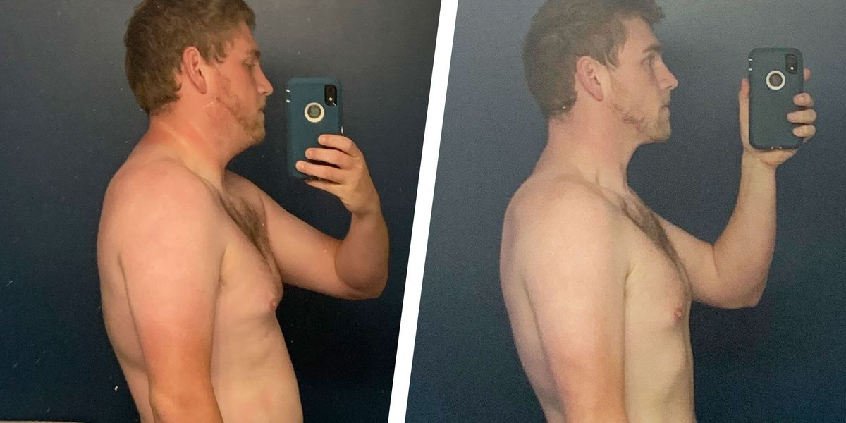 3 Simple Changes Helped This Guy Lose Nearly 100 Pounds in
