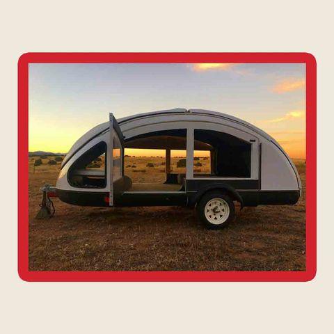 Vehicle, Vehicle door, Motor vehicle, Transport, Car, Automotive design, Trailer, Automotive exterior, Travel trailer, RV,