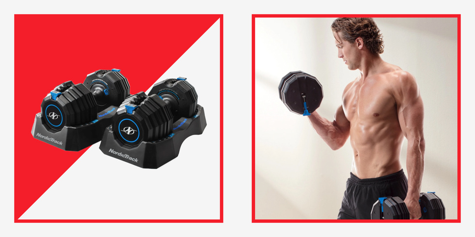 NordicTrack's Budget-Friendly Adjustable Dumbbells Will Level Up Your Home Gym thumbnail
