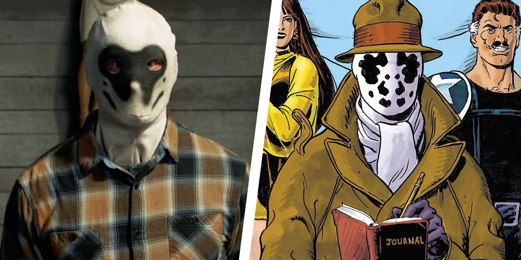 Here's Why the Rorschach Group is Attacking Cops in 'Watchmen'
