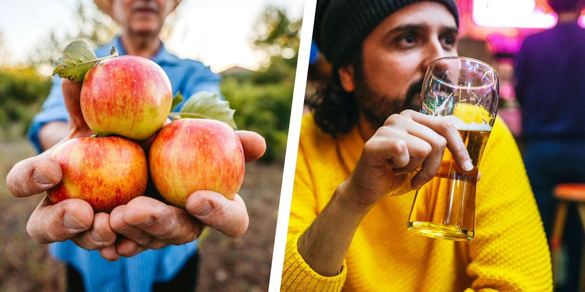 The 6 Best Hard Ciders of 2020 - Low-Calorie, Low-Carb - menshealth.com