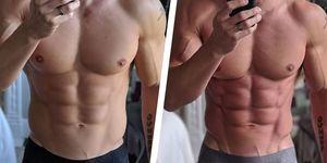 上体起こし,挑戦,ボディビルダー,    腹筋 引き締まる,YouTuber,トレーニング,ワークアウト,abs,