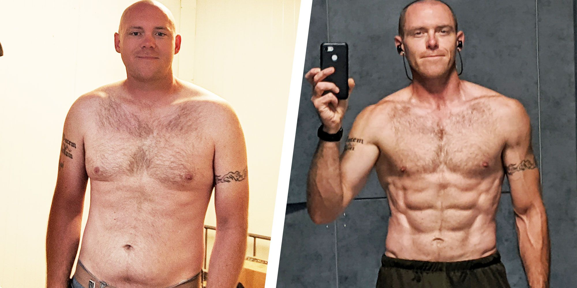 How This Guy Lost More Than 22kg and Avoided Getting 'Skinny Fat'