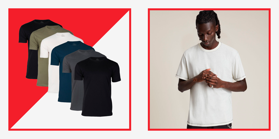 The 32 Best T-Shirts for Men You'll Wish You Bought Sooner