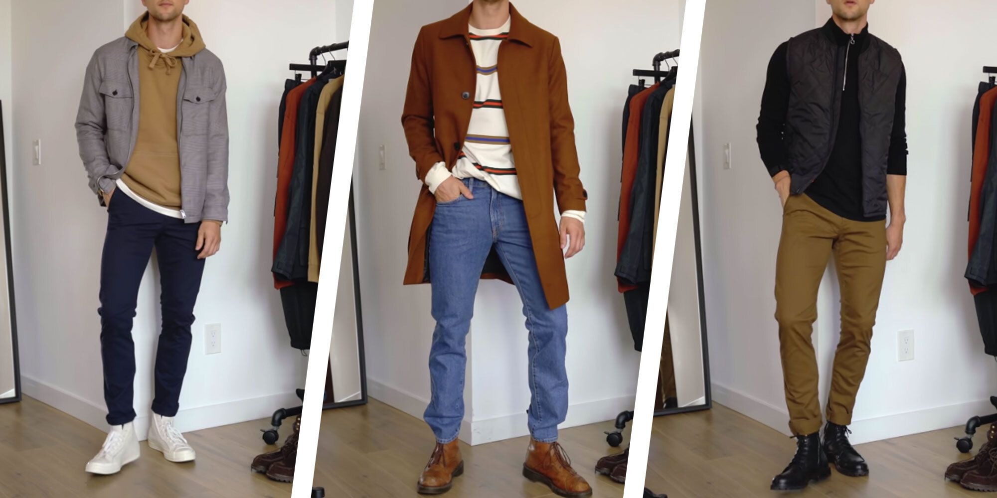 Watch This Guy Model 7 Simple Affordable Fall Outfits From H M