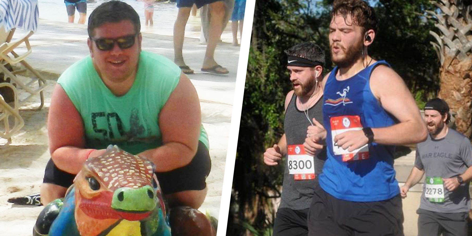 A Simple Cardio Routine Helped This Guy Drop 68kg in 2 Years
