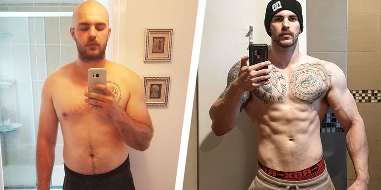 This Guy Built Serious Muscle After Cutting Back His Drinking and Fixing His Diet