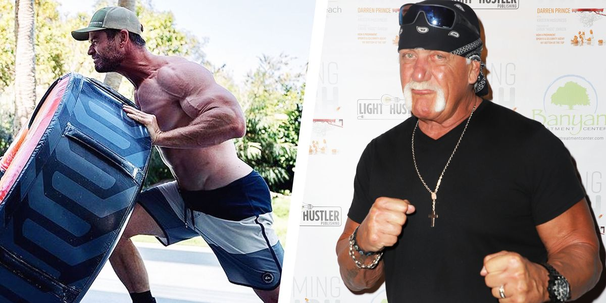 Hulk Hogan Just Reacted to Chris Hemsworth's Extreme Muscle Transformation for His Biopic
