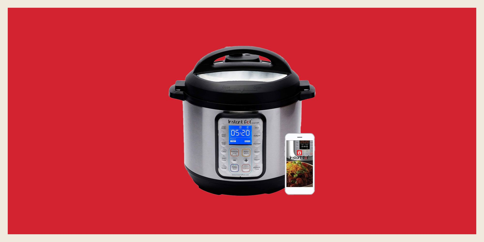 Amazon's Having a Great Sale on Instant Pot's Ridiculously Smart Pressure Cooker