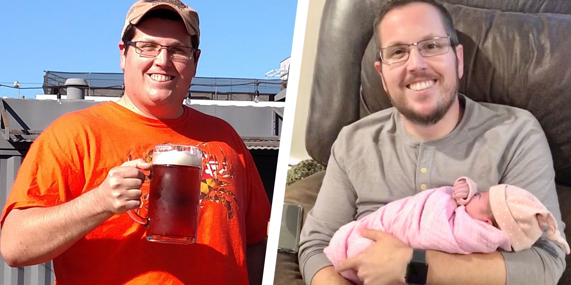 Cutting Back on Sugar and Carbs Helped This Dad Drop 75 Pounds