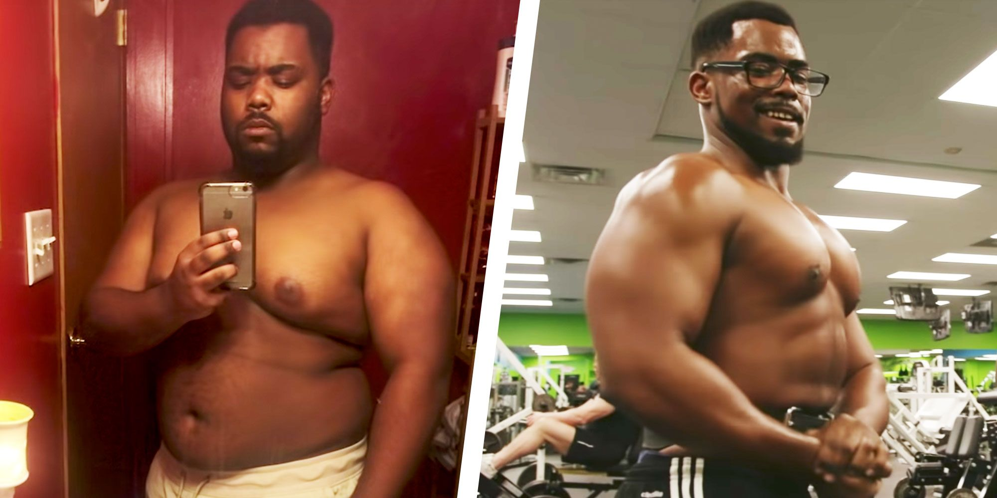 6 month body transformation weight loss
