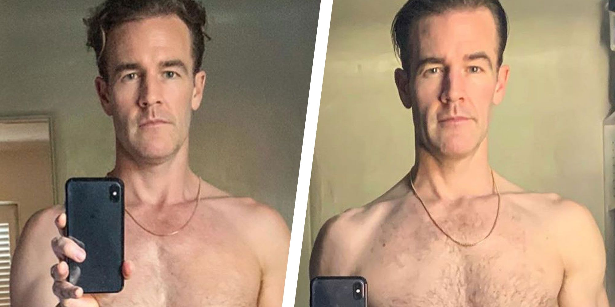 James Van Der Beek Is Even More Ripped Thanks to 'Dancing with the Stars'