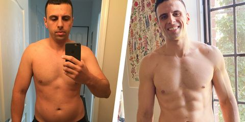 mohammad mugharbil before and after losing weight