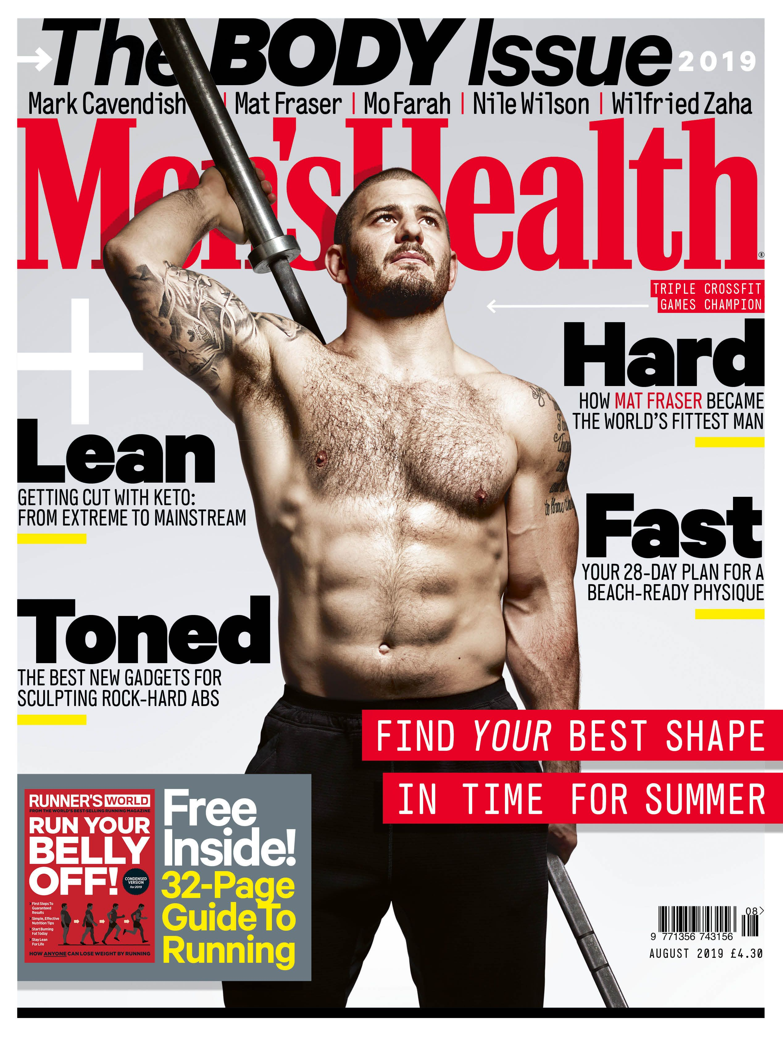4 Reasons to Buy the August Issue of Men's Health